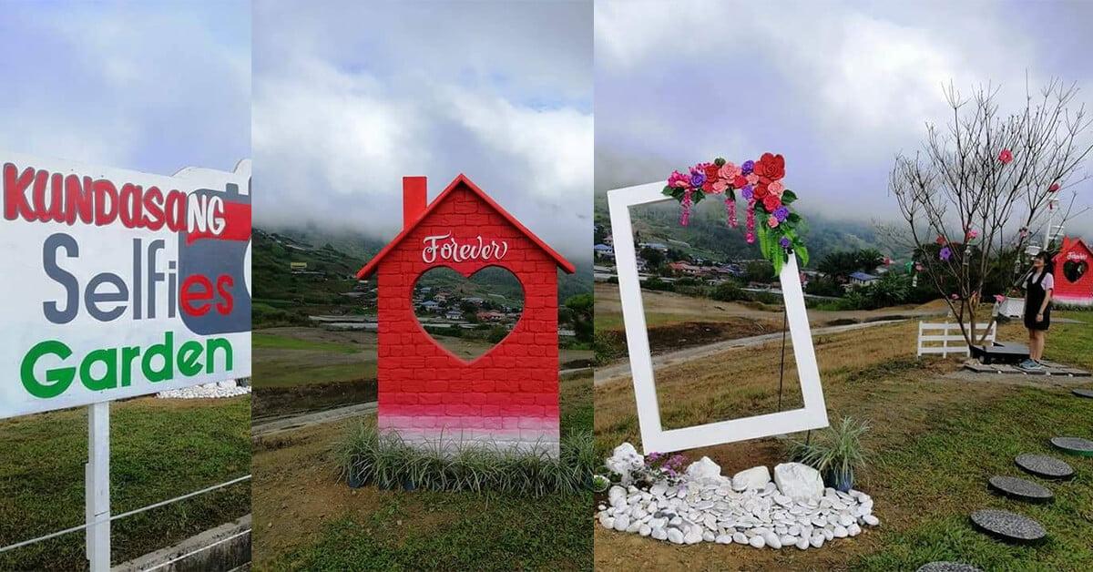 Kundasang Selfie Garden, Port Terbaik Untuk Bergambar di Kundasang
