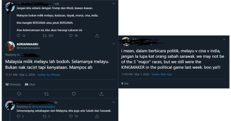 Malaysia Milik Melayu Guris Perasaan Netizen Dari Sabah Dan Sarawak