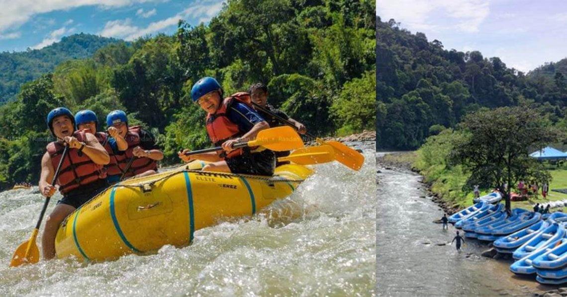 Kiulu White Water Rafting, Sabah, Aktiviti Perakitan Sesuai Untuk Semua Peringkat Umur