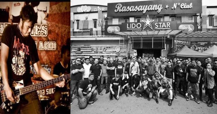 Kuching Kehilangan Salah Satu Legend Scene Muzik Undergroundnya