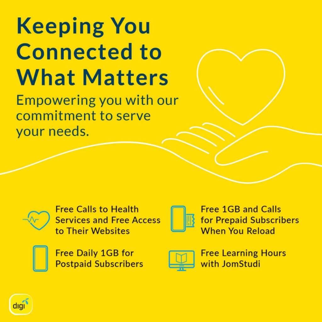 Nikmati Tawaran 3 Pakej Telco Yang Menarik Ini Sepanjang Perintah Kawalan Pergerakan