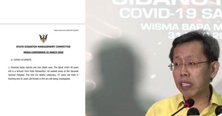 COVID19 : Sarawak Catat 21 Kes Positif COVID19 Hari Ini, Kenaikan Tertinggi Setakat Ini