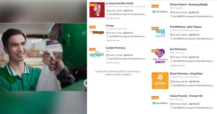 GrabMart Kini Mula Beroperasi Di Kuching Dan Kota Kinabalu
