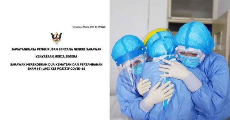 TERKINI : Sarawak Catat 2 Kematian COVID19, 6 Kes Baru Positif Dan 32 PUI Hari Ini