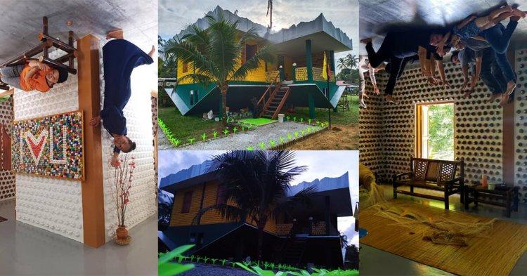 Tarikan Pelancongan Terbaru, Rumah Terbalik Di Samatan Kini Dibuka