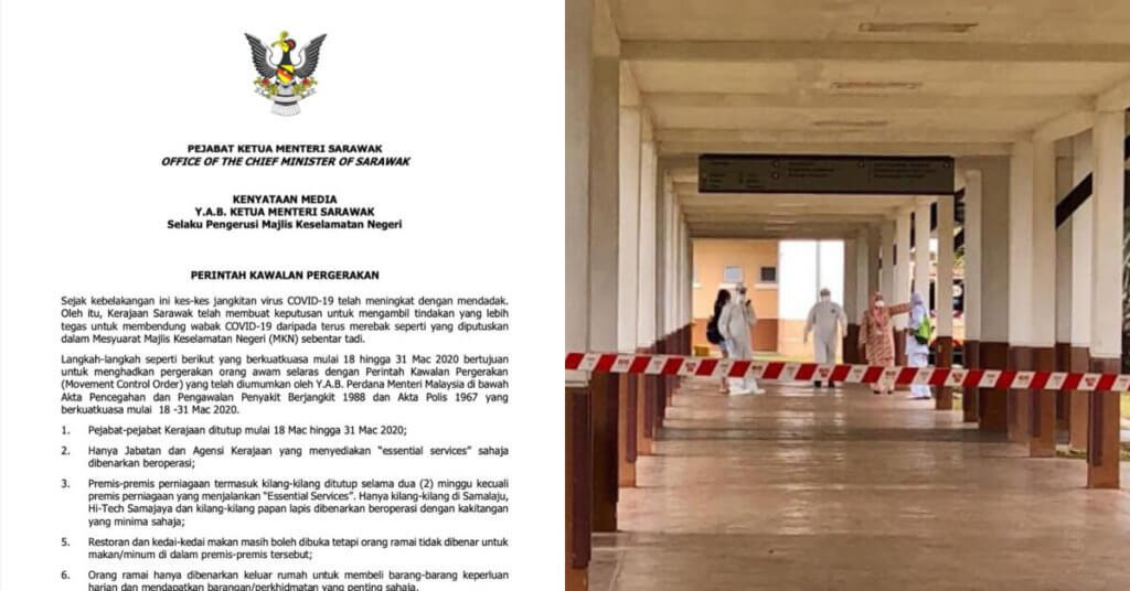 Sabah, Sarawak dan Brunei Catat 221 Kes Positif COVID19 Dalam Masa 1 Minggu