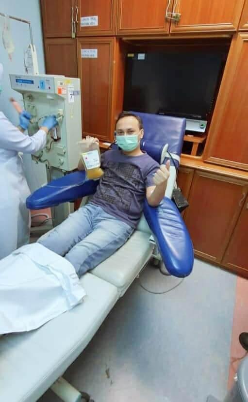 Plasma Darah Diuji Untuk Rawat COVID-19 Di Malaysia, Lelaki Ini Jadi Penderma Pertama