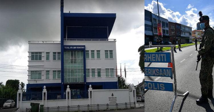 Remaja Mengakui Melarikan Diri Dari SGH, Polis Di Kuching Yang Mengambilnya Menjalani Saringan COVID-19