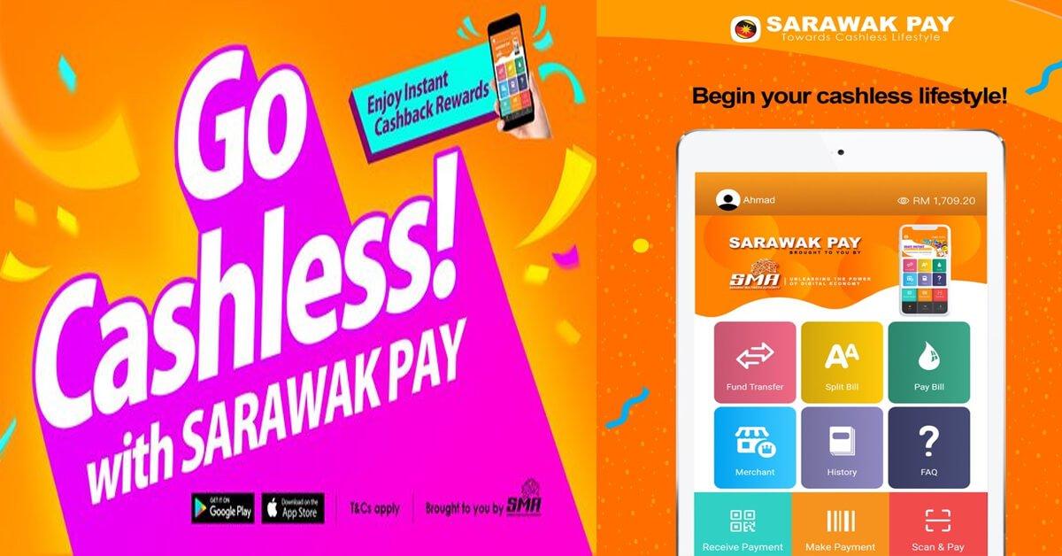 Ini Cara Untuk Daftar Akaun Sarawak Pay Untuk Pengguna. Oh ya, ada RM5 percuma untuk anda!