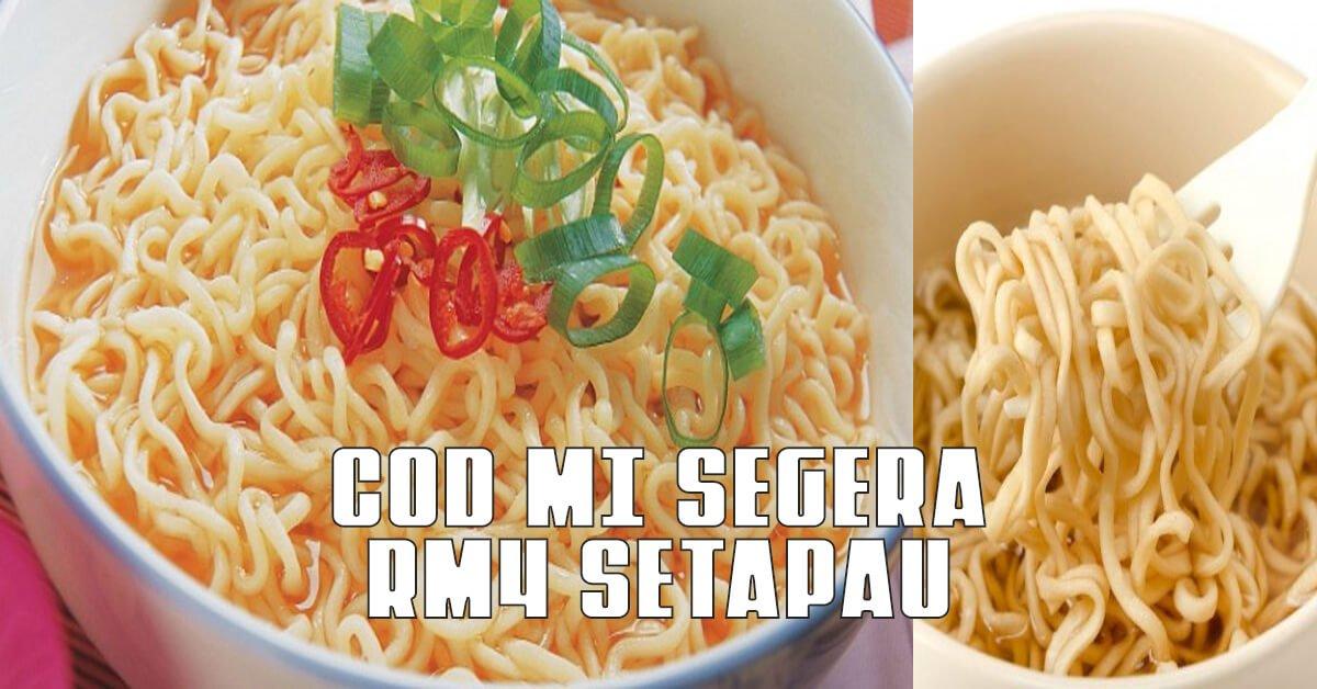 """""""Sapa Nak COD Mi Maggi?"""" Lelaki Ini Menghiburkan Netizen Dengan Cadangan Untuk Menjual Masakan Mi Segera"""