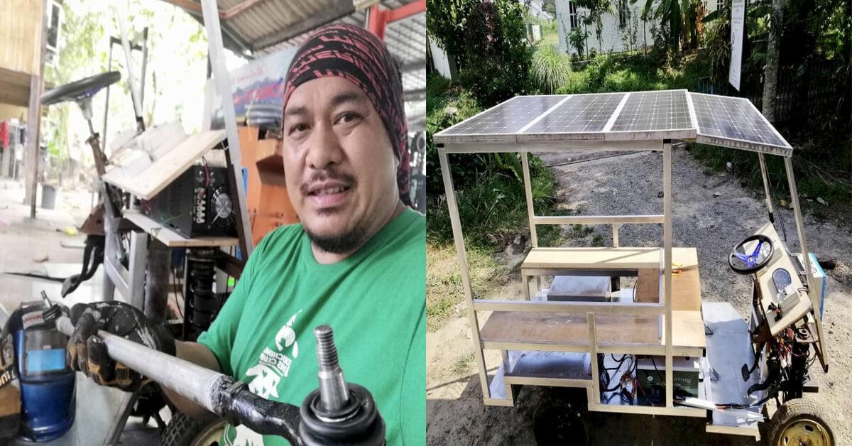 Senator Sabah Bina Buggy Berkuasa Solar Dalam Masa 2 Minggu