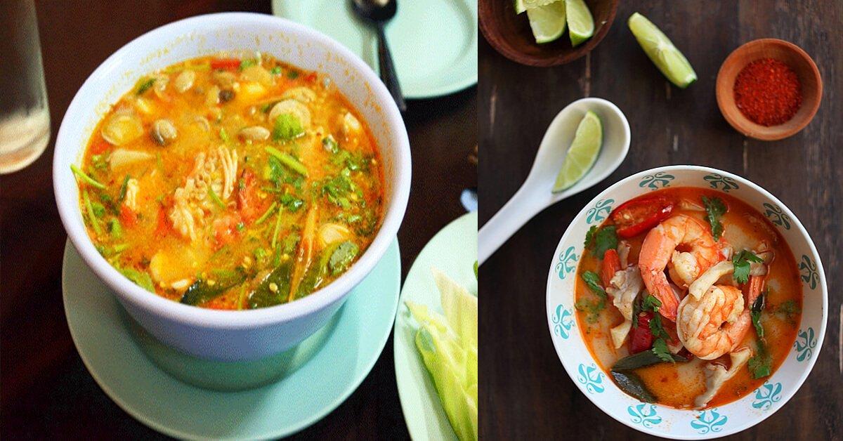 Ini Adalah Resipi Sup Tom Yam Yang Sedap Dan Mudah Dibuat!