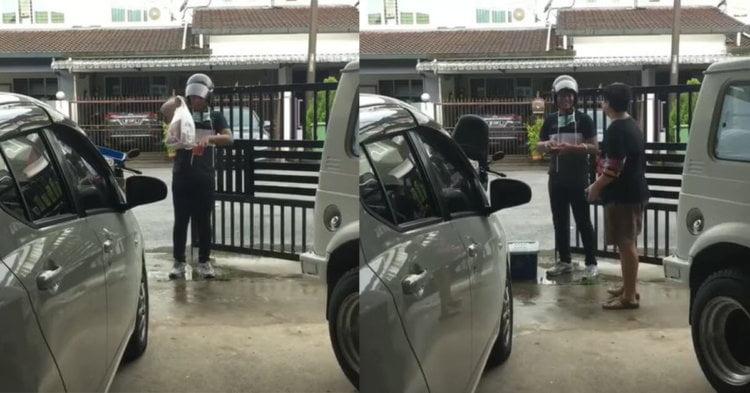 Sanggup Redah Hujan Untuk Pelanggan, 'Runner' Ini Digelar Unsung Hero