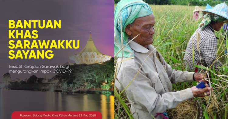Bantuan Sarawakku Sayang Disalurkan Ke Akaun Penerima Setiap 15 Haribulan Bermula April