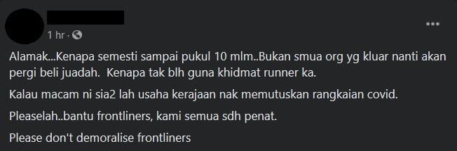 Netizen Kecam Kebenaran Berniaga Di Kawasan Rumah Sehingga Pukul 10 Malam Ketika Ramadhan