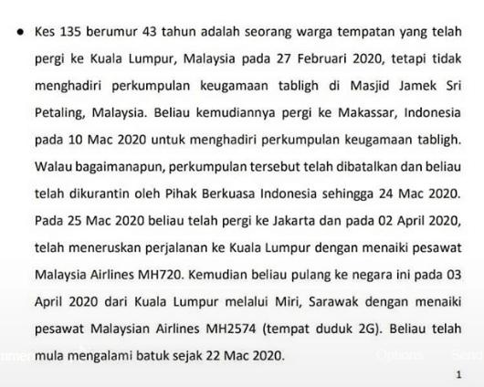 COVID19 Di Brunei : 5 Hari Tanpa Kes Baru, 91 dari 135 Kini Sudah Sembuh