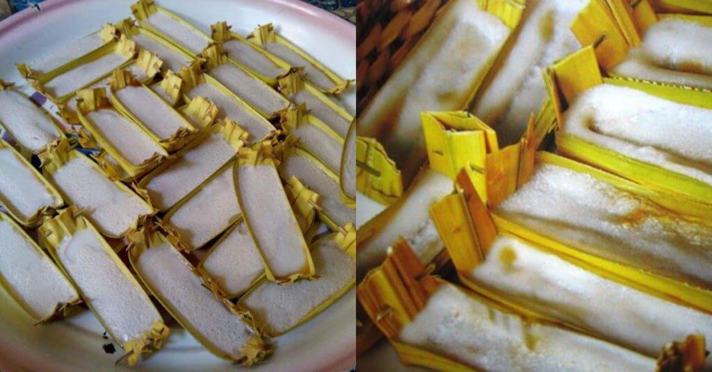 Guna 5 Bahan Sahaja, Ini Resepi Mudah Kuih Takir Berlemak Tradisi Sarawak