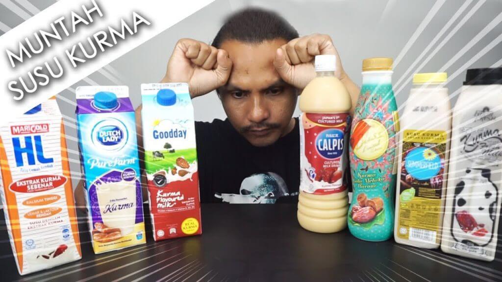 Jom Try Buat Sendiri Susu Kurma Yang Sedap Macam Susu FarmFresh Ini