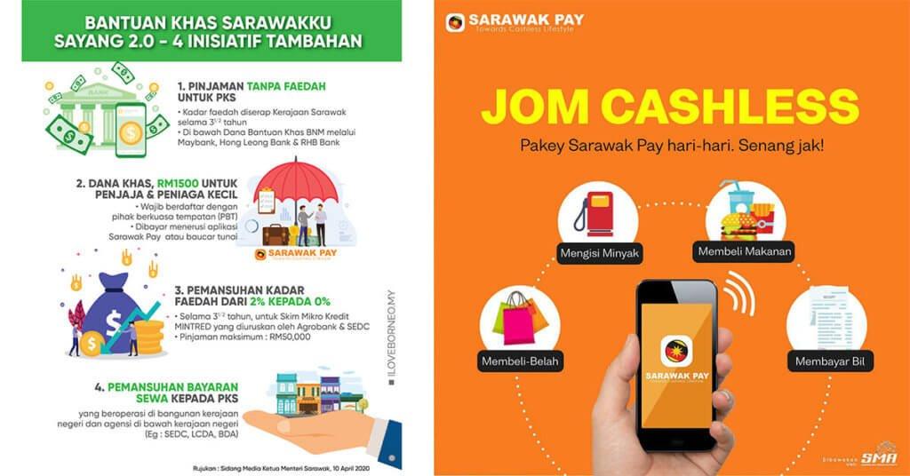Ini Adalah Panduan Pendaftaran Akaun Sarawak Pay Untuk Peniaga