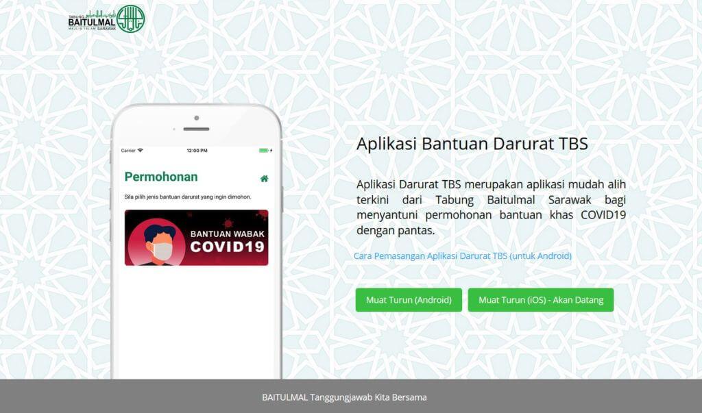 Ikuti Panduan Ringkas Permohonan Bantuan Darurat Tabung Baitulmal Sarawak