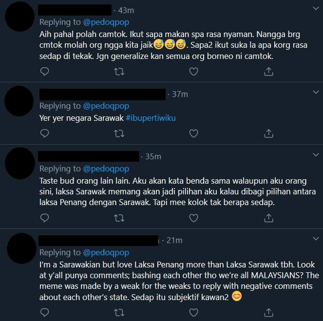 'Sarawak' Trending Lagi Di Twitter, Kali Ini Gaduh Gara-Gara Ranking Laksa Pula