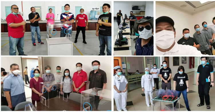 Universiti Malaysia Sarawak Cipta Kotak Intubasi Bantu Barisan Hadapan Berdepan COVID19