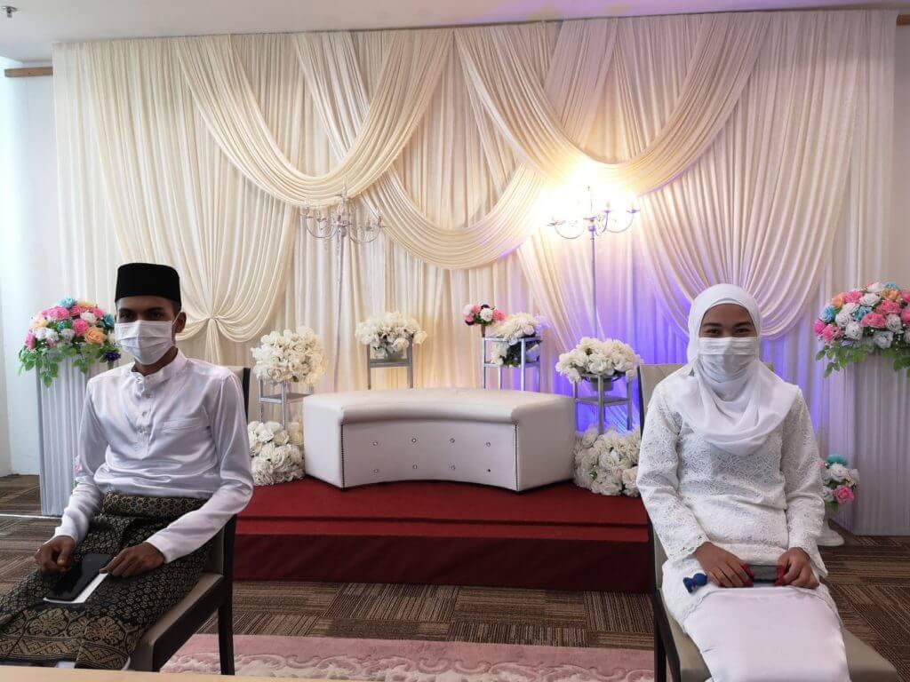 Sijil Nikah Siap Terus, Lihat Bagaimana Pasangan Ini Diijabkabul Semasa PKPB Di Sibu