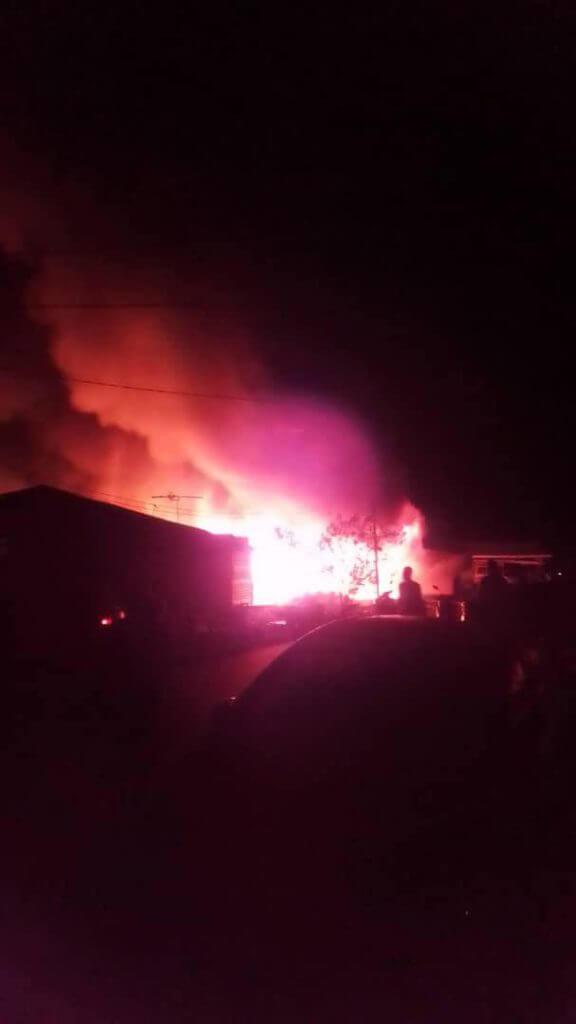 Dugaan Di Akhir Ramadhan, Keluarga Di Muara Tebas Hilang Tempat Berteduh Akibat Kebakaran