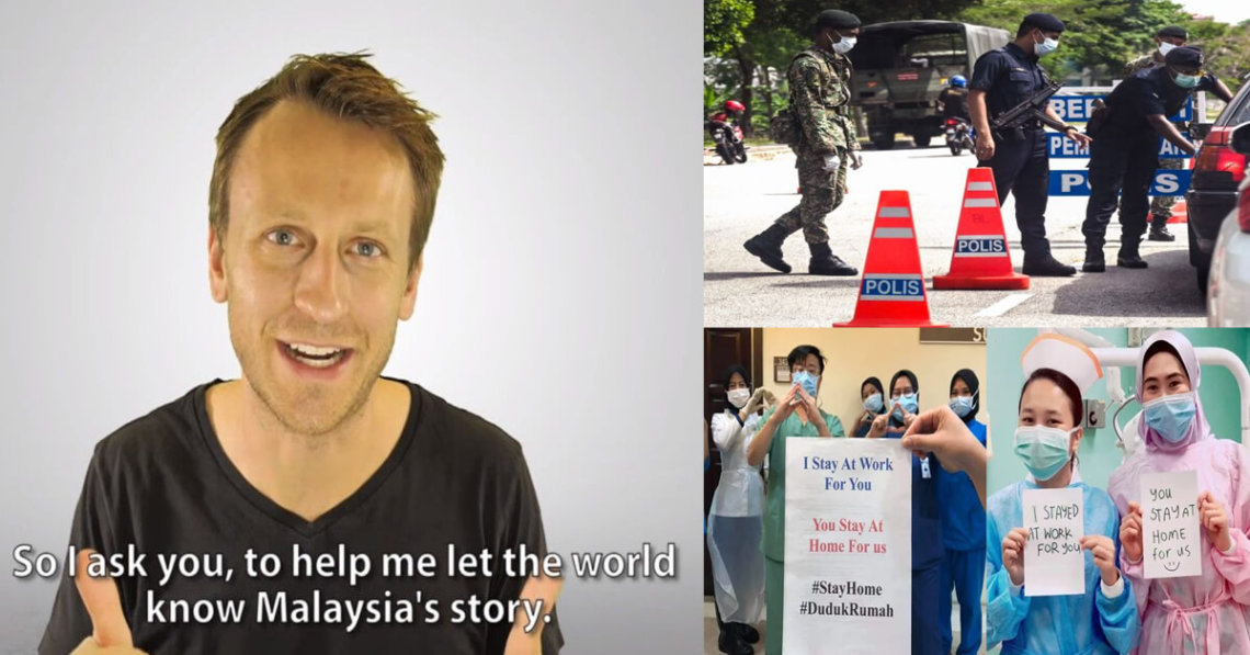 """Contohi Malaysia Dalam Memerangi COVID-19,"" Malaysia Viral Dipuji Oleh International Dental Surgeon"