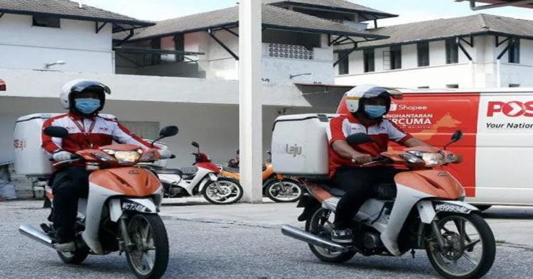 Pos Laju Sarawak Pelawa Individu Ada Kereta Jadi 'Runner' Semasa PKPB