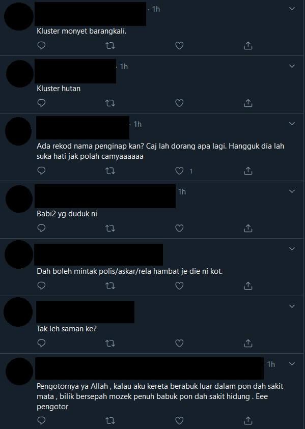 """""""Pengotor Mengalahkan Kera"""", Gambar Hotel Kuarantin Di Sarawak Rosak Teruk Tular"""