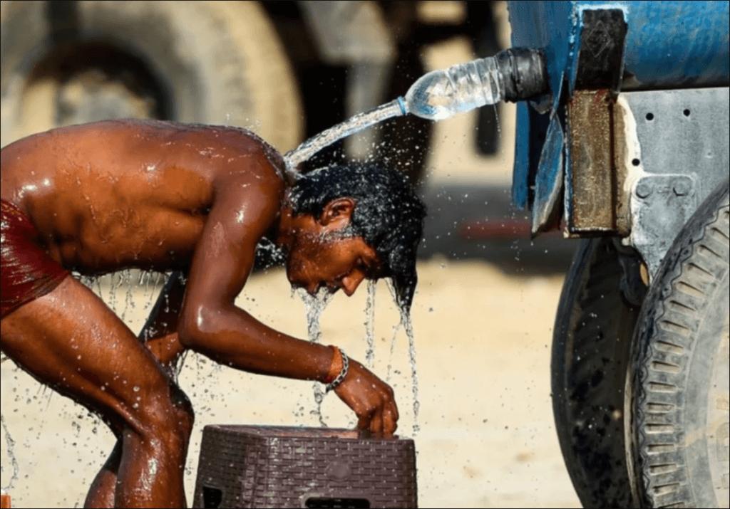 Panas Luar Biasa Di India, Suhu Mencecah 50 Darjah Celsius Tertinggi Dalam 18 Tahun