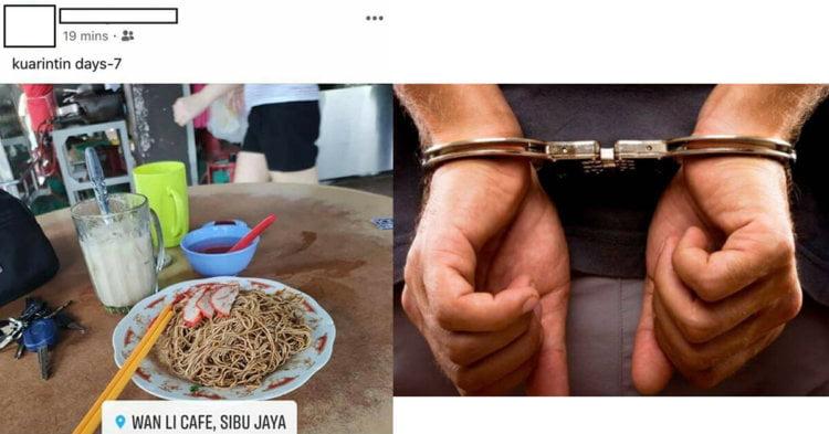 Lelaki Ingkar Kuarantin Untuk Makan Mee Kampua Serah Diri Kepada Pihak Berkuasa