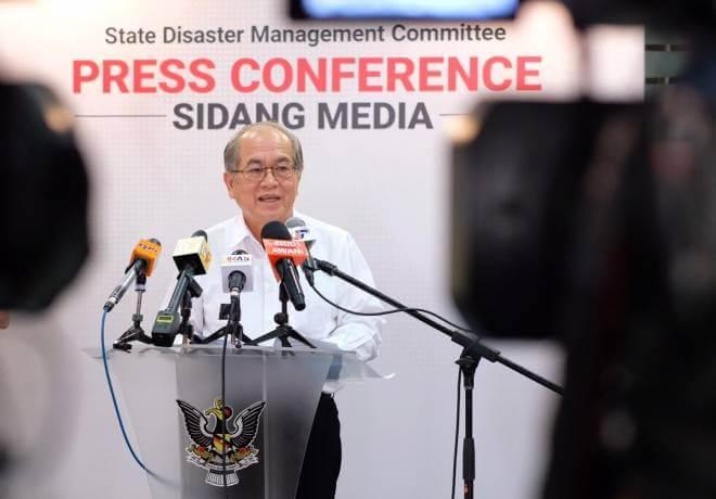 79.96% Telah Sembuh, Sarawak Tiada Kes Positif Baru 5 Hari Berturut-Turut