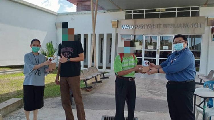 Dua Pesakit Terakhir Covid-19 Di Hospital Miri Akhirnya Dibenarkan Pulang