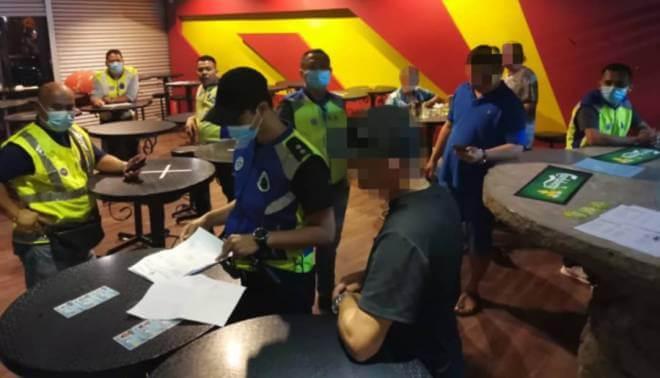 Masih Pilih Untuk Berhibur Di Pusat Hiburan Semasa PKPB, 9 Individu Ditahan Di Bintulu