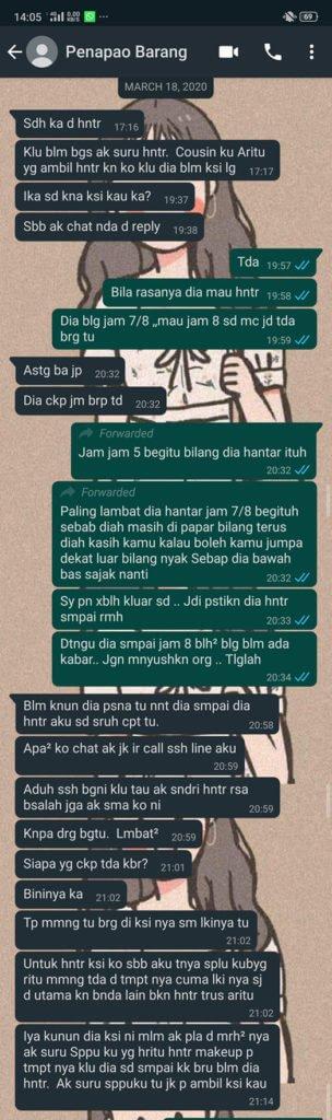 Fed Up Dengan Janji Kosong, Wanita Sabah Ini Berang Beg Nilai RM500 Tidak Dipulangkan