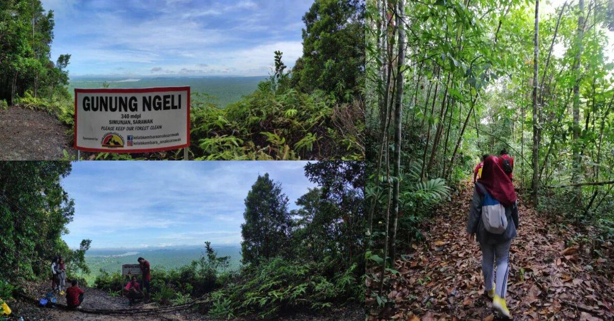 Photo of Gunung Ngeli, Port Hiking Yang Sesuai Untuk Beginner Di Simunjan