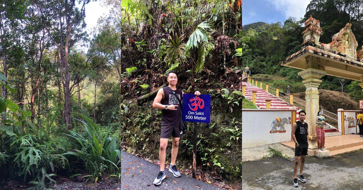 Photo of Gunung Matang, Lokasi Terbaru Untuk Hiking Santai Sambil Lihat Kuil Ala Batu Caves