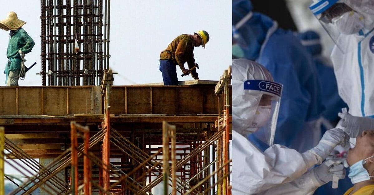 2 Pekerja Pembinaan Yang Positif COVID-19 Menghilangkan Diri Di Kuching