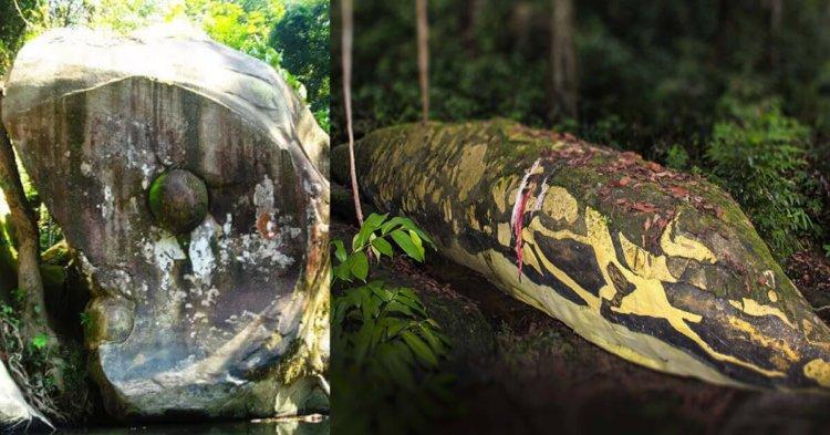 Ini Adalah 5 Kisah Batu Misteri Yang Terdapat Di Sarawak