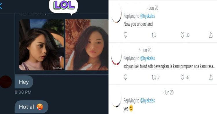 Guna FaceApp Tukar Wajah Ke Perempuan, Lelaki Ini Diganggu Seksual Dalam Media Sosial