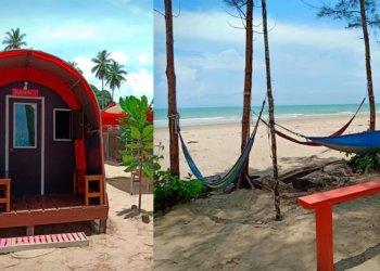 Permata Pugu Camping Site, Port Berkhemah Yang Selesa Di Tepi Pantai Pugu