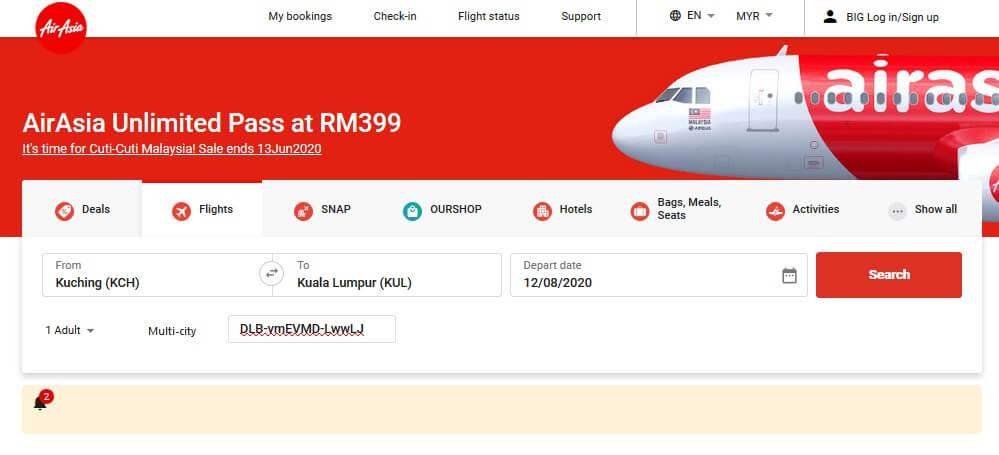Didakwa Scam, Ini Rupanya Tips Dan Trik Guna Pas Penerbangan 399 AirAsia