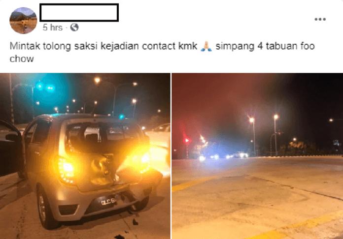 Lelaki Mabuk Langgar Lari, Rempuh Pagar Masjid Di Kuching Akhirnya Ditahan Oleh Pihak Berkuasa