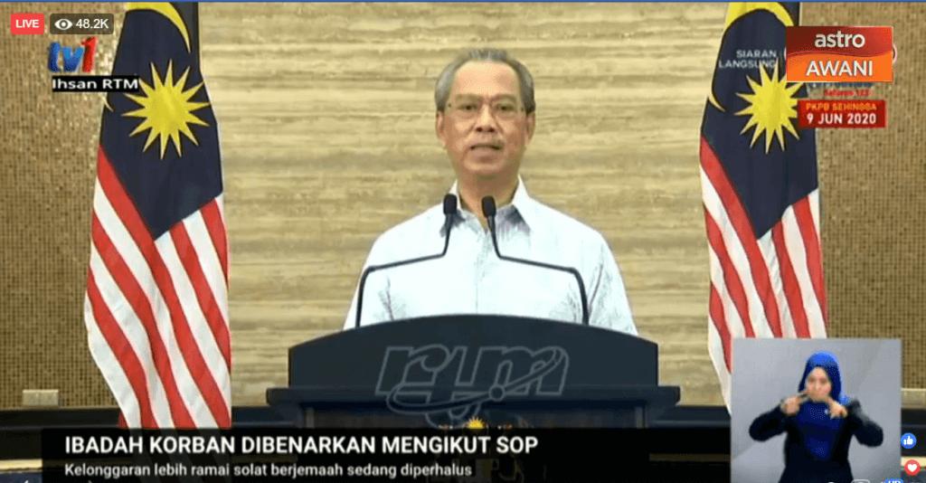 PM Umum Rentas Negeri Dibenarkan, Boleh Rancang Lawat Ibu Bapa Di Kampung