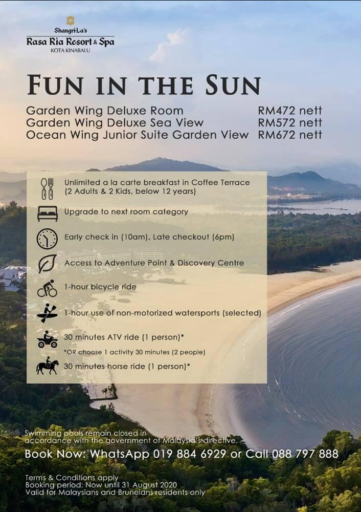 Lihat 12 Senarai Lengkap Promosi Pelancongan Di Kota Kinabalu