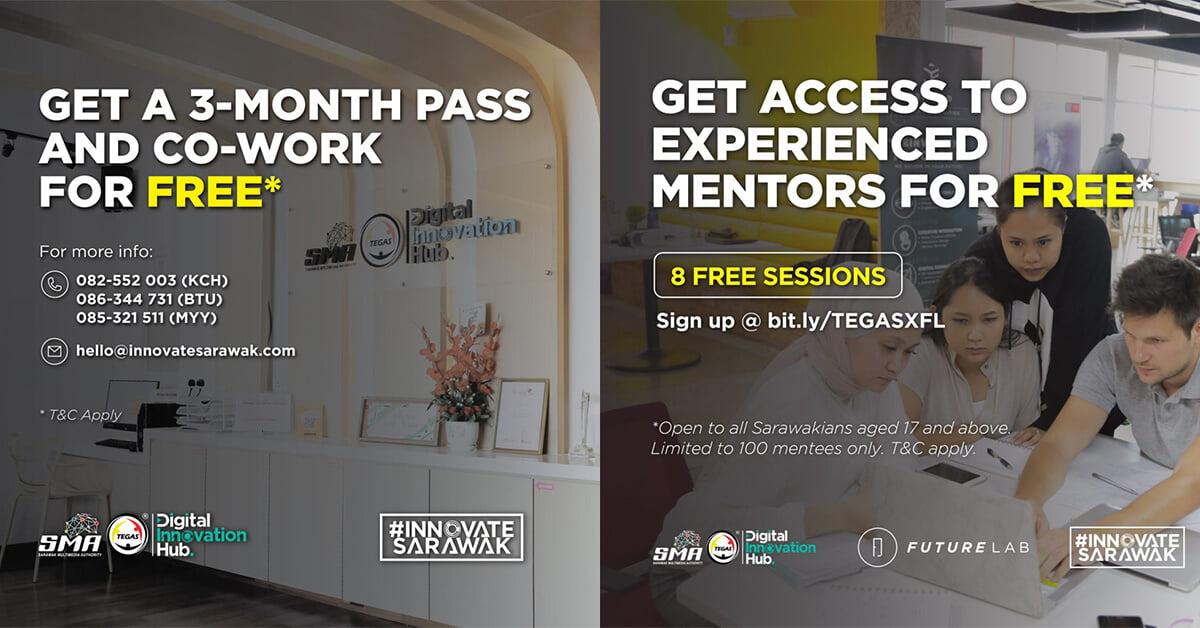 Photo of Hub Inovasi Digital SMA-TEGAS Kini Tawarkan Sesi Mentor Dan Pas Co-Working Percuma