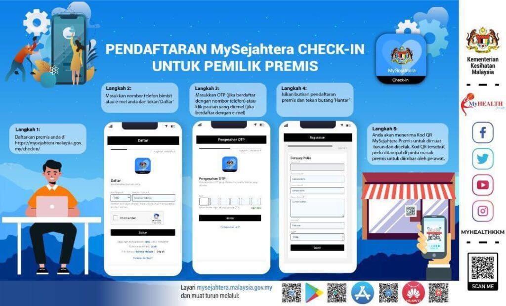 RM 50 Nak Masuk Tak Lama Lagi, Kemaskini Maklumat Anda Di Aplikasi MySejahtera Sekarang