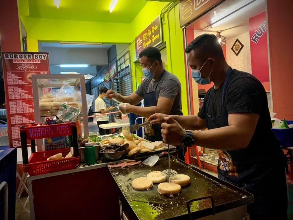 Ini Port Street Burger Yang Anda Mesti Cuba Di Kuching